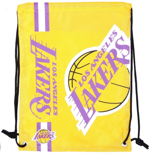 Forever Collectibles - NBA Los Angeles Lakers - Cropped Logo Turnbeutel