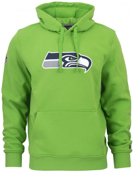 New Era - NFL Seattle Seahawks Team Logo Hoodie - Grün