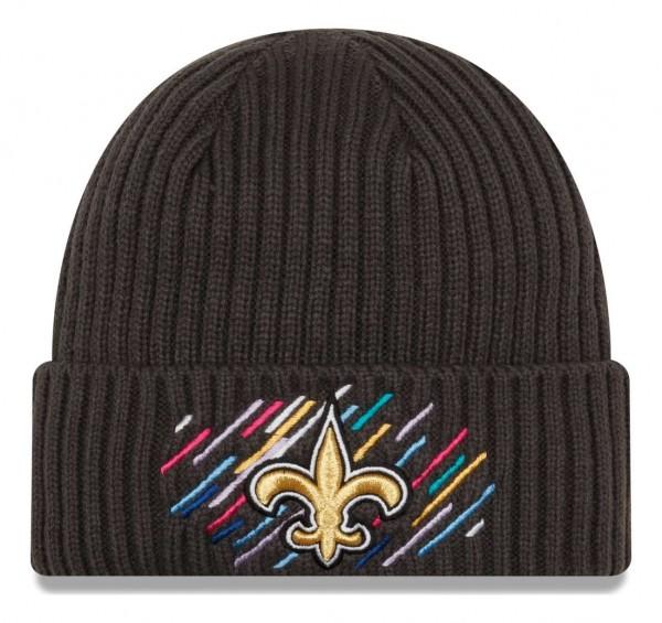 New Era - NFL New Orleans Saints 2021 Crucial Catch Knit - Grau Vorderansicht