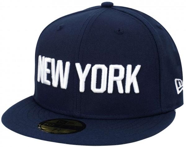 New Era - NBA New York Knicks 2019 City Series 59Fifty Fitted Cap - Blau