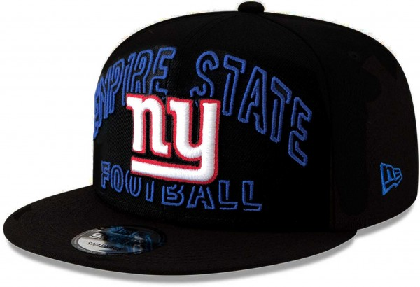 Snapback Cap mit gesticktem NY Logo und Empire State Football auf der Vorderseite