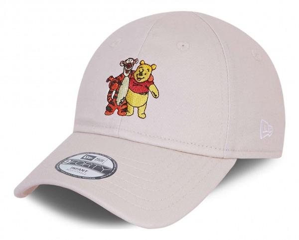 New Era - Winnie the Pooh Character 9Forty Kids Strapback Cap - Beige Ansicht vorne schräg links