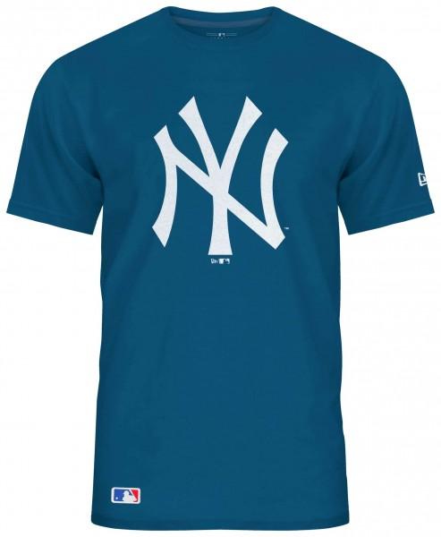 New Era - MLB New York Yankees Seasonal Team Logo T-Shirt - Blau Vorderansicht
