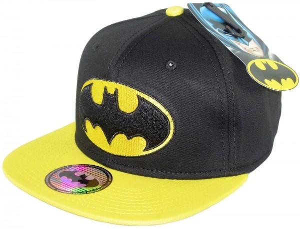 DC Comics - Batman Contrast Snapback Cap - Schwarz