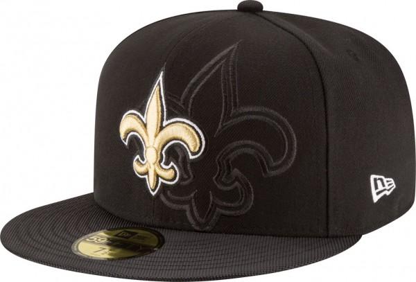 New Era - NFL New Orleans Saints 2016/17 Sideline 59Fifty Cap - black