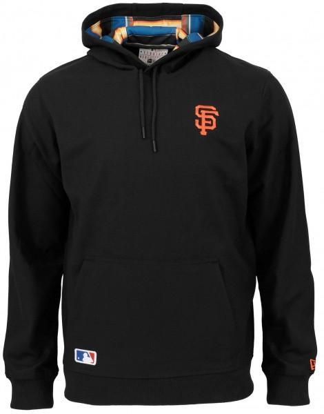 New Era - MLB San Francisco Giants West Coast Hoodie - Schwarz Vorderansicht