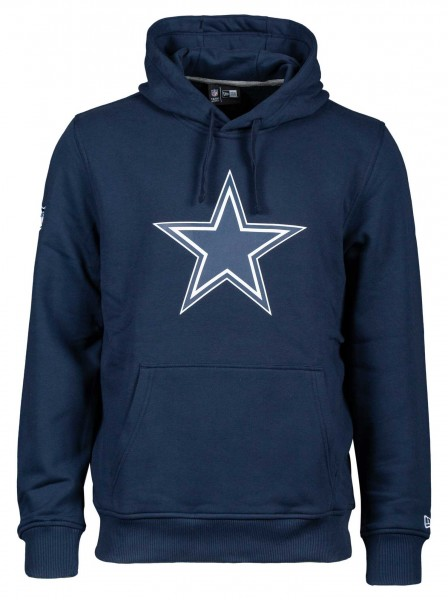 New Era - NFL Dallas Cowboys Team Logo Hoodie - Blau