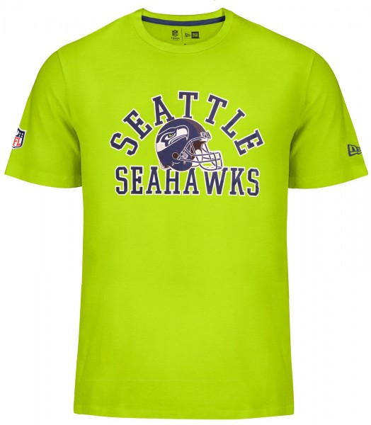 New Era - NFL Seattle Seahawks College T-Shirt - action green