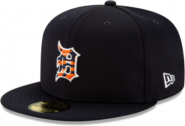 New Era - MLB Detroit Tigers Properties 59Fifty Fitted Cap - Blau Ansicht vorne links