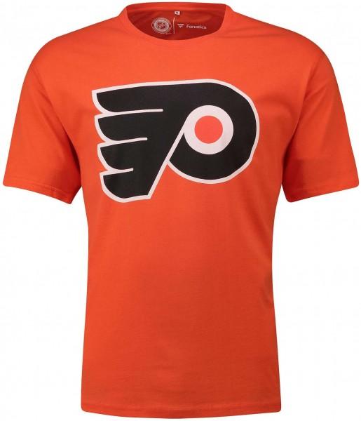 Fanatics - NHL Philadelphia Flyers Primary Core Graphic T-Shirt - Orange Vorderansicht