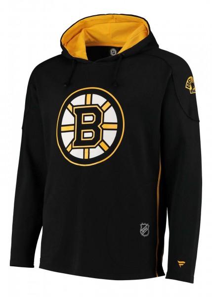 Fanatics - NHL Boston Bruins Franchise Overhead Hoodie - Schwarz Vorderansicht