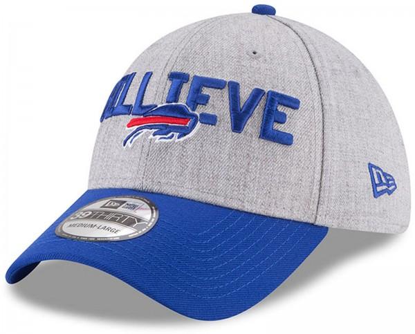 New Era - NFL Buffalo Bills Draft 2018 On Stage 39Thirty Cap - Grau-Blau
