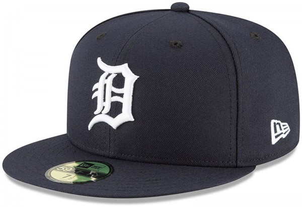 New Era - MLB Detroit Tigers Authentic On-Field Game 59Fifty Fitted Cap - Blau