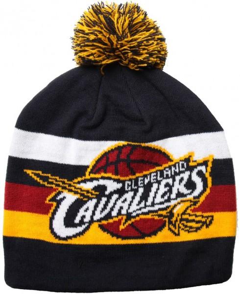Mitchell & Ness - NBA Cleveland Cavaliers Striper Beanie - black
