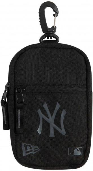 New Era - MLB New York Yankees Mini Pouch Tasche - Schwarz Vorderansicht