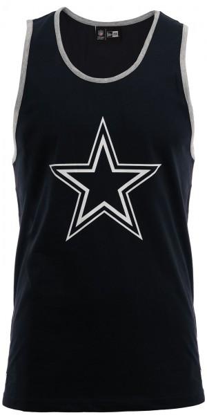 New Era - NFL Dallas Cowboys Dry Era Tank Top - Blau-Grau
