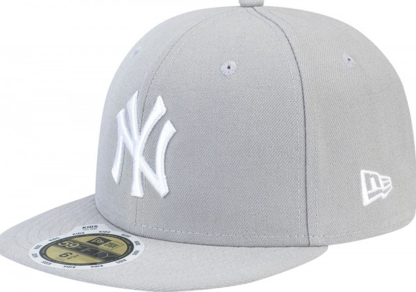 New Era - MLB New York Yankees Essential Kids 59Fifty Cap - grey