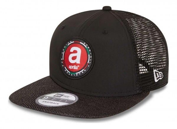 New Era - Aprilia Engineered Fit 2 9Fifty Snapback Cap - Grau Ansicht vorne schräg links
