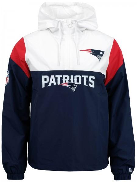 New Era - NFL New England Patriots Colour Block Windbreaker - Blau-Weiß-Rot ansicht vorne