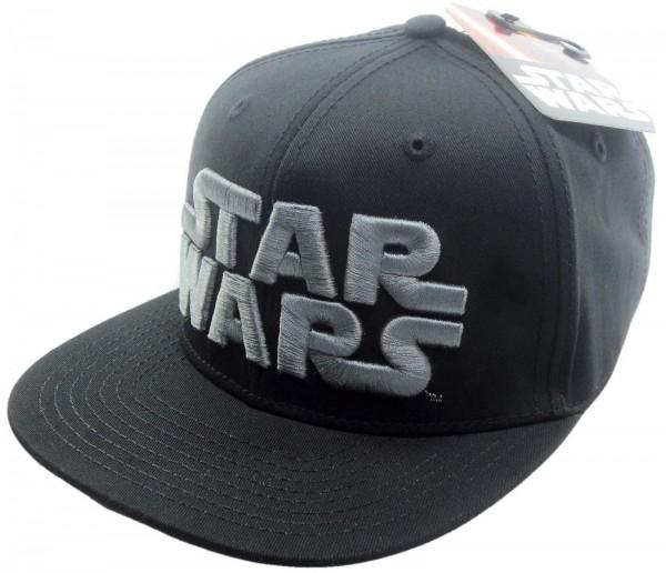 Disney - Star Wars Logo Contrast Snapback Cap - Schwarz