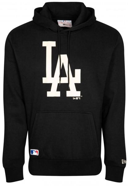 New Era - MLB Los Angeles Dodgers Seasonal Team Logo Hoodie - Schwarz