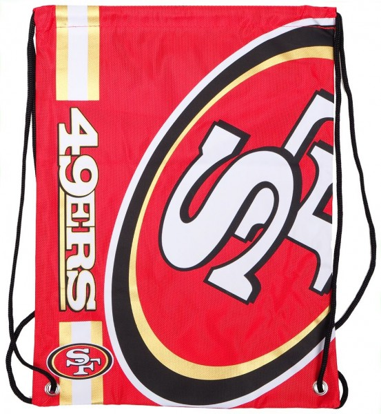 Forever Collectibles - NFL San Francisco 49ers - Cropped Logo Turnbeutel