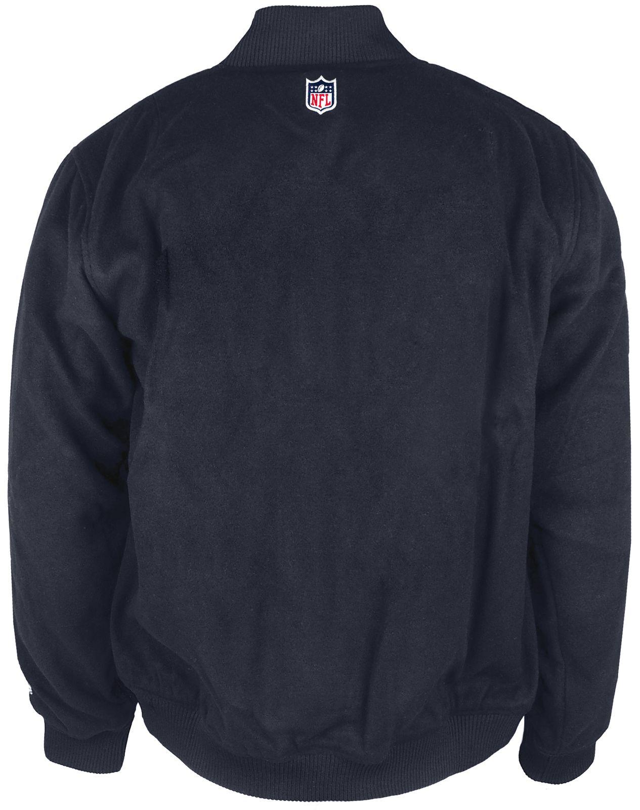94a448d81 ... Vorschau  New Era - NFL Seattle Seahawks Melton Bomberjacke - navy