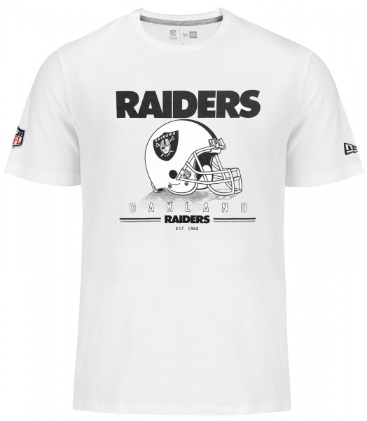 New Era - NFL Oakland Raiders Fan Pack T-Shirt - white