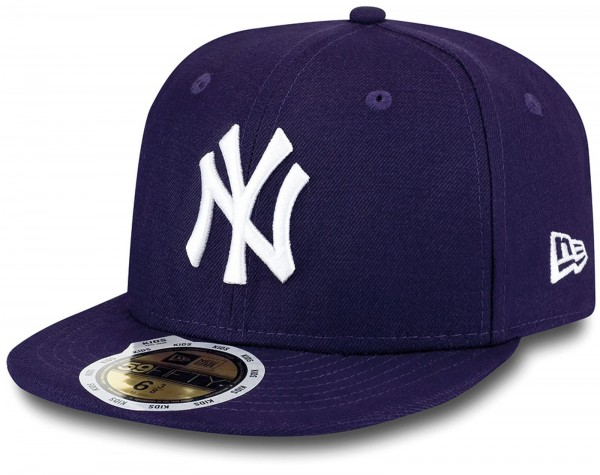New Era - MLB New York Yankees Essential Kids 59Fifty Cap - Purple