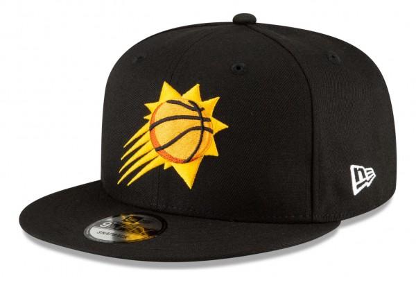 New Era - NBA Phoenix Suns 2020 City Series Alternate 9Fifty Snapback Cap - Schwarz Ansicht vorne schräg links