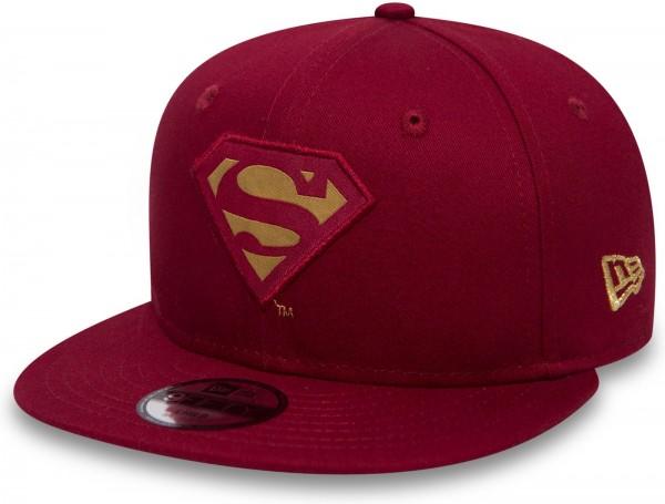 f72d4831f81c New Era - DC Comics Superman Character 9 Fifty Snapback Kinder Cap - Rot  Ansicht schräg