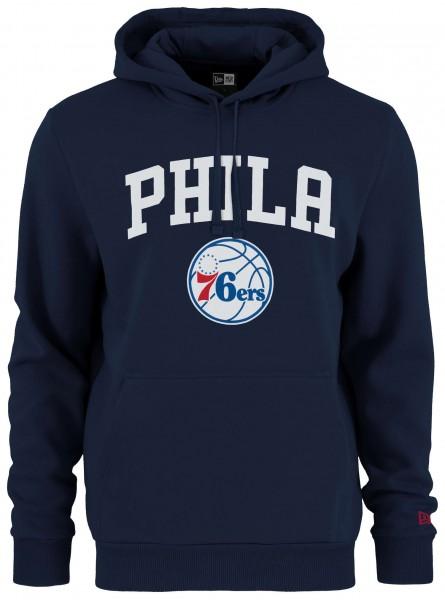 Kapuzenpullover mit gedrucktem Logo des NBA Teams Philadelphia 76ers