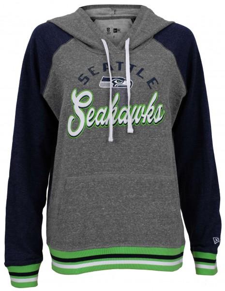 New Era - NFL Seattle Seahawks Damen Hoodie - Grau Vorderansicht