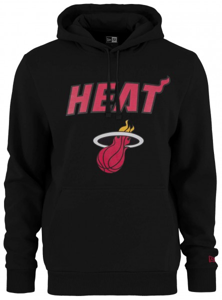 Kapuzenpullover mit gedrucktem Logo des NBA Teams Miami Heat