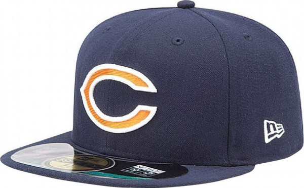 New Era - NFL Chicago Bears Authentic On-Field 59Fifty Cap - navy