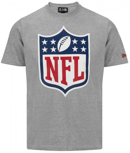 New Era - NFL Shield Logo T-Shirt - grey