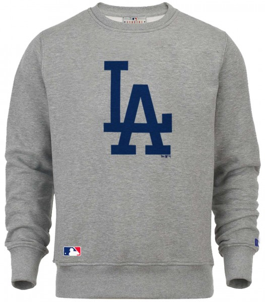 New Era - MLB Los Angeles Dodgers Team Logo Sweatshirt - grey