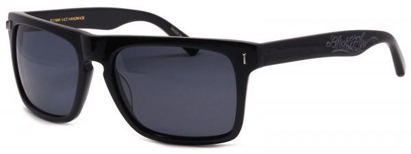 Black Flys - Flyami Vice - Sonnenbrille - Schwarz glänzend