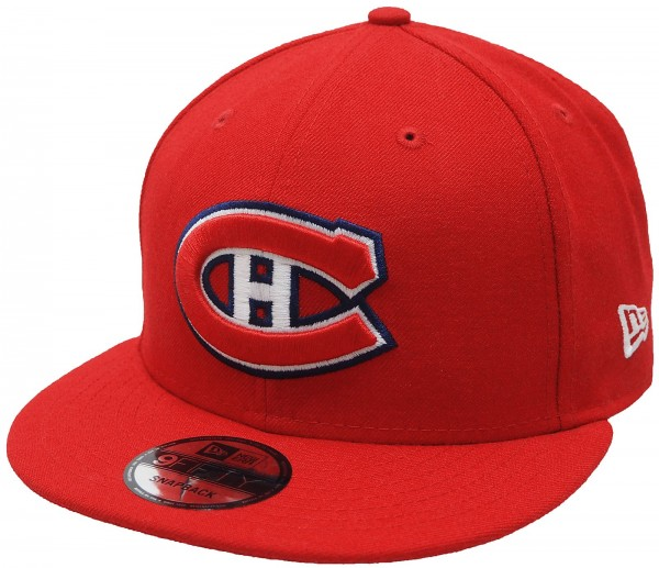 New Era - NHL Montréal Canadiens 9Fifty Snapback Cap - red
