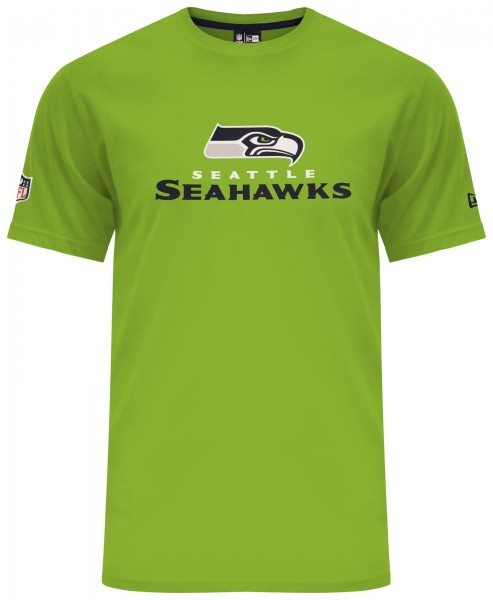 New Era - NFL Seattle Seahawks Dry Era T-Shirt - Action Grün
