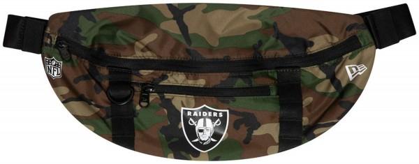 New Era - NFL Oakland Raiders Waist Bag Light Tasche - Camouflage Vorderansicht
