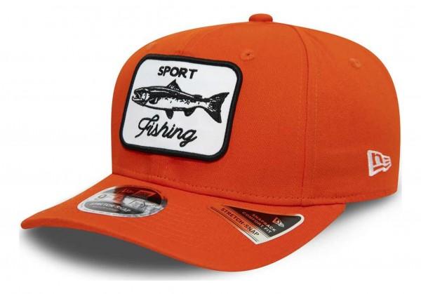 New Era - Outdoors 9Fifty Stretch Snapback Cap - Orange Ansicht vorne schräg rechts