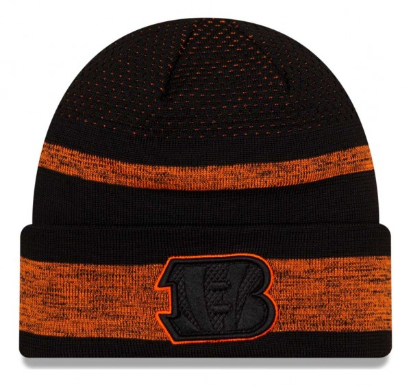 New Era - NFL Cincinnati Bengals 2021 Tech Knit Beanie - Mehrfarbig Vorderansicht