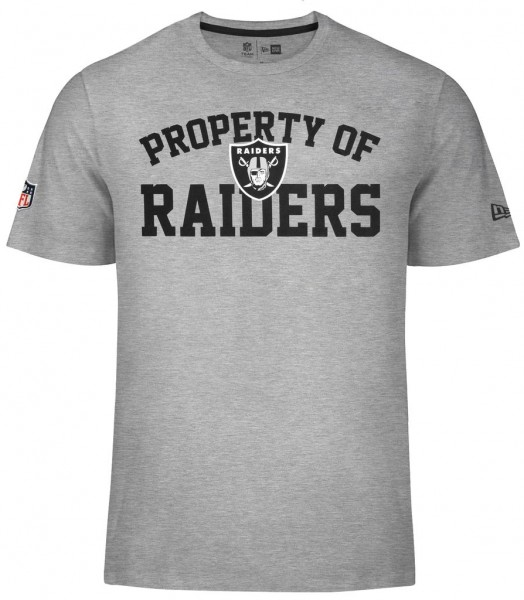 New Era - NFL Oakland Raiders Property T-Shirt - grey