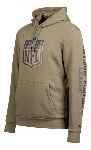 New Era - NFL Shield Digi Camo PO Hoodie - Camouflage Ansicht vorne schräg links