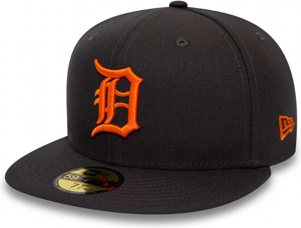 New Era - MLB Detroit Tigers League Essential 59Fifty Fitted Cap - Grau Ansicht schräg vornelinks