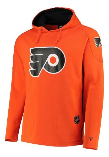 Fanatics - NHL Philadelphia Flyers Franchise Overhead Hoodie - Orange Vorderansicht