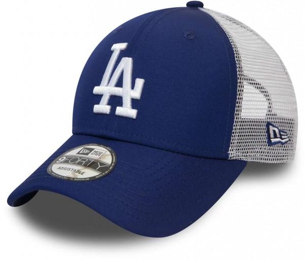New Era - MLB Los Angeles Dodgers Summer League 9Forty Strapback Cap - Blau Ansicht vorne schräg links