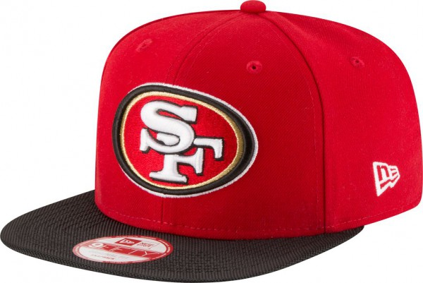 New Era - NFL San Francisco 49ers 2016/17 Sideline 9Fifty Snapback Cap - red