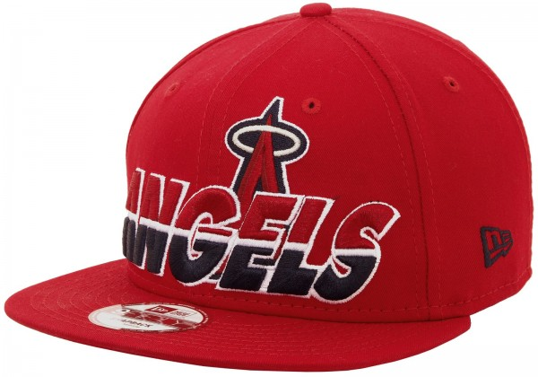 New Era - MLB Los Angeles Angels Horizon 9Fifty Snapback Cap - red
